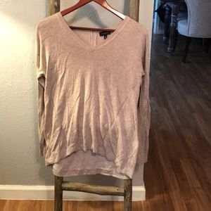 Great condition! Beige limited wool blend sweater